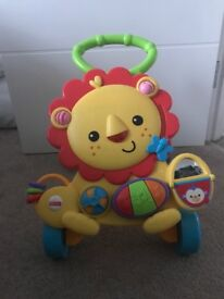 Fisher price musical lion walker £10