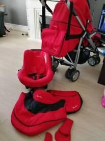 SOLD Silver Cross baby pram since birth+ car seat