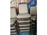 Brown Stackable chairs (£2 per chair)