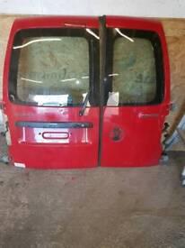 Volkswagen caddy rear doors