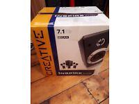 Creative Inspire T7700 7.1 surround sound speakers