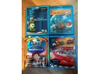 Bundle of 4 Disney Blu-ray Discs Excellent Condition Like New
