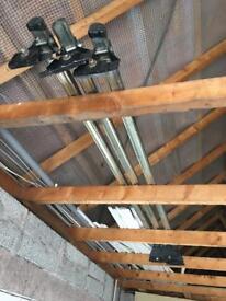 Van roof rails