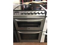 55CM STAINLESS STEEL ZANUSSI ELECTRIC COOKER