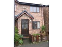 2 BED HOUSE TO LET, CHORLTON GREEN. £875 pm. Parking & Garden Available end Aug