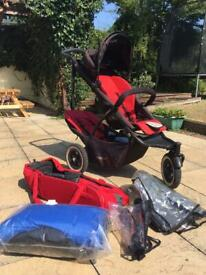 Phil & Ted's double buggy - dot