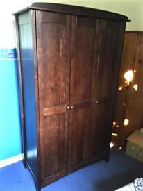 2 piece set Wardrobe & Bedside Cabinet