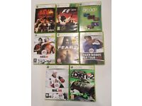Range of Xbox games