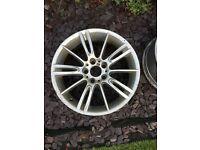 MV3 Alloy Wheels one rear and two front