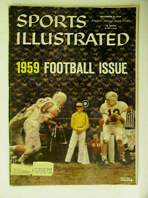 1959 Sports Illustrated College Football Issue, Red Grange Rates Best 11 Teams