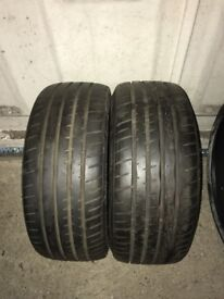 Hankook Ventus S1 195 40 17 x2 5-6mm