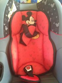 mickey mouse carseat