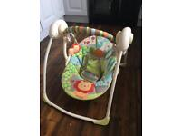 Bright Starts Up Up and Away Portable Swing