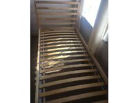 Pine Wood Single Bed Frames from Ikea ONLY 6 MONTHS OLD IN EXCELLENT CONDITION!