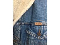 Men's Wrangler vintage demin jacket M