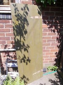 Shed or coal house door In good, solid condition