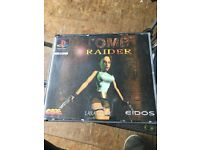 PlayStation one tomb raider game