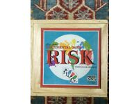 RISK boxed wooden game