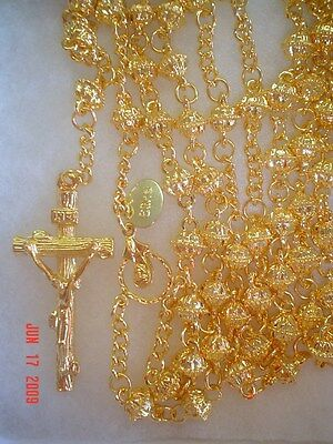 18 Carat Gold-Plated Rosary - Made in Czech