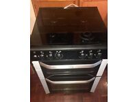 Belling Double Electric Fan Oven and Grill & Gas Hobs - Excellent Condition