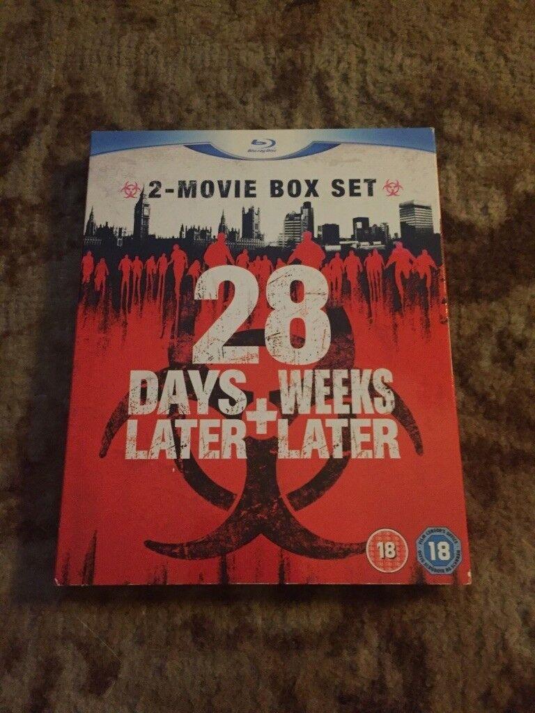 28 Days Later & 28 Weeks Later Boxset (Blu-Ray)