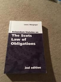 Scots law of obligations