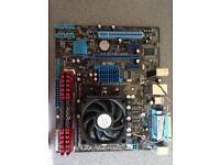 Motherboard cpu ram bundle