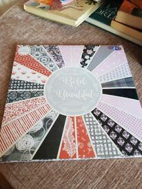 Bold and Beautiful Papercraft Pad From B&M