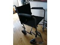 Caremax Wheelchair WM2351 Foldable Puncture Proof New