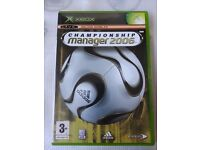 * Original Xbox NEW SPINE SEALED Game * CHAMPIONSHIP MANAGER 2006 * X Box