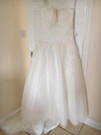 Ella rosa wedding dress with veil