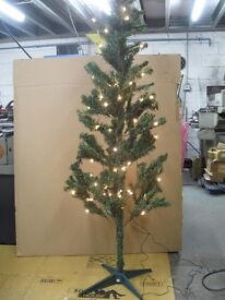 Green Christmas Tree with Lights - 6ft Pre - Lit New