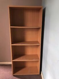 Solid wood office bookcase