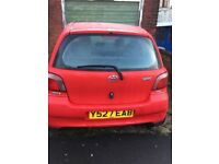 2001 Y Toyota Yaris 1.3 CDX Auto 5 Door Long Mot Sunroof Alloys micra Corsa Clio fiesta
