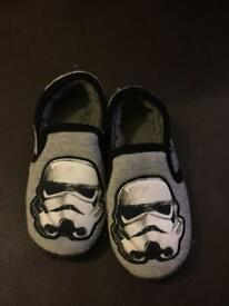 Size 10 Starwars Slippers Size 10 Never Worn