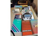 English text books plus