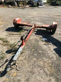 Recovery towing dolly