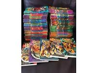 Huge selection of 50 beastquest books