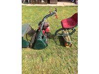 """Webb 24"""" Cut Petrol Cylinder Ride On Lawn Mower"""