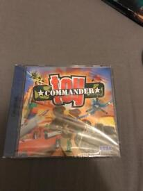 Toy commander factory sealed for Dreamcast
