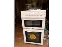 Belling gas cooker BEL FS50GTCL White with owen and grill.