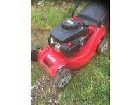 Petrol lawnmower mountfield self drive