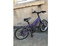 "Ridgeback Melody 16"" Wheel Kids Bike for ages 4+"