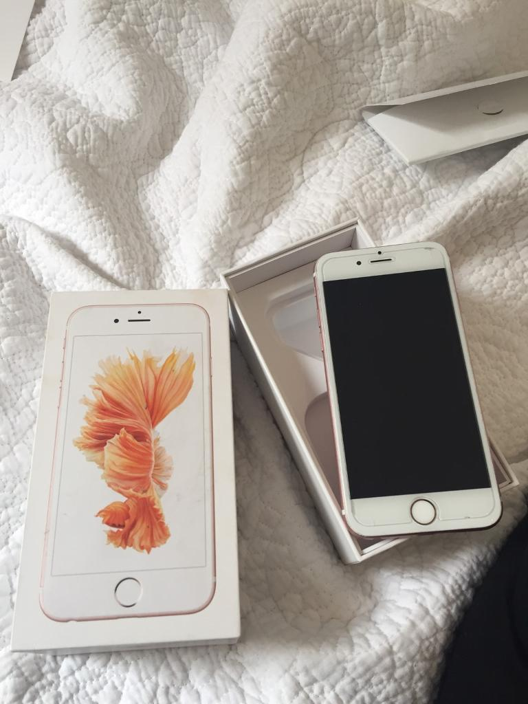 iPhone 6s Perfect quality Rose Goldin Beckenham, LondonGumtree - Rose gold IPhone 6s Used since January Not needed anymore as I have a 7