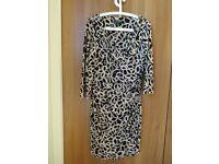 Ralph Lauren Patterned Dress UK 12/14 (US Size 10)