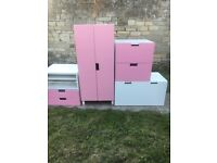 Lovely Pink Bedroom Set