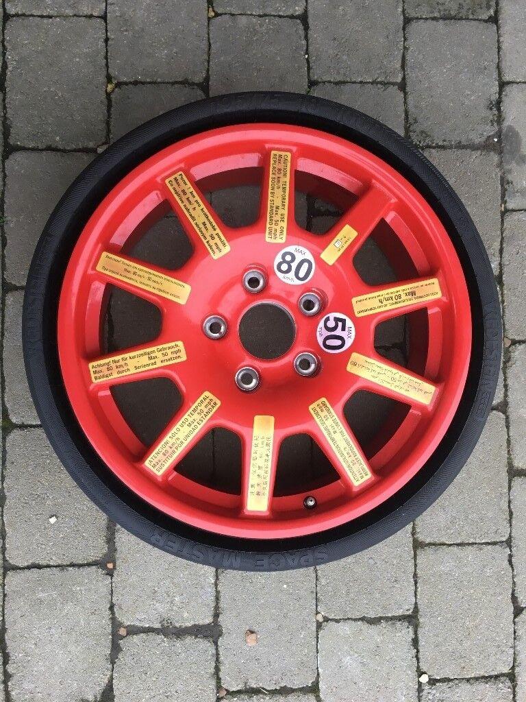 E Saver Wheel Porsche Cayenne Touareg Audiq7 195 75r18 7p0601011a Collapsible Spare 18