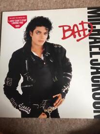 Michael Jackson-BAD album 2 side epc 450290 1