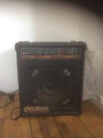Carlsbro guitar/ keyboard speaker with amp £20