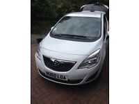 Vauxhall Meriva 1.4i 16V Exclusiv 5dr MPV - White. Mot until 29.09.17 oil & filter changed 23/09/16